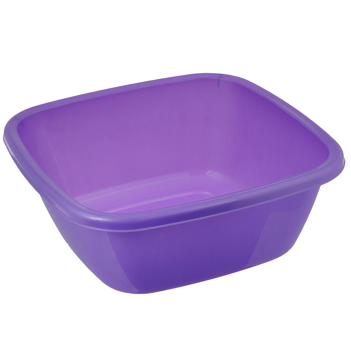 Таз Dunya Plastik, цвет: сиреневый, 13 л. 1011910119_сиреневыйТаз Dunya Plastik выполнен из прочного пластика. Он предназначен для стирки и хранения разных вещей. По бокам имеются удобные углубления, которые обеспечивают удобный захват. Таз пригодится в любом хозяйстве.