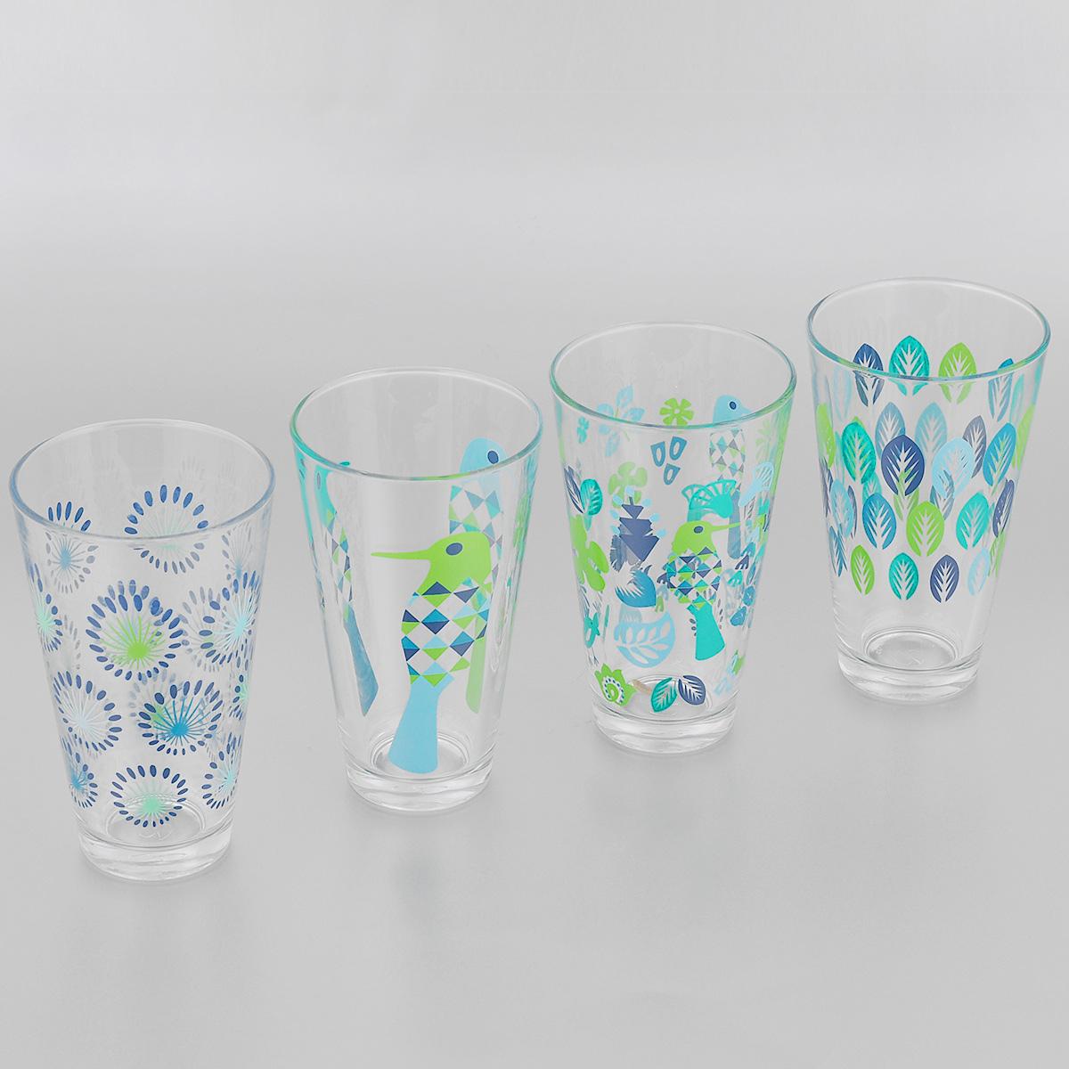 Набор стаканов Sagaform Fantasy, 290 мл, 4 шт5016459Набор Sagaform Fantasy, выполненный из высококачественного стекла, состоит из четырех стаканов, декорированных изящным рисунком. Стаканы с утолщенным дном прекрасно подойдут для подачи воды или других напитков. Эстетичность, функциональность и изящный дизайн сделают набор достойным дополнением к вашему кухонному инвентарю. Набор стаканов Sagaform Fantasy украсит ваш стол и станет отличным подарком к любому празднику. Диаметр стакана (по верхнему краю): 8 см. Высота стакана: 13,5 см.