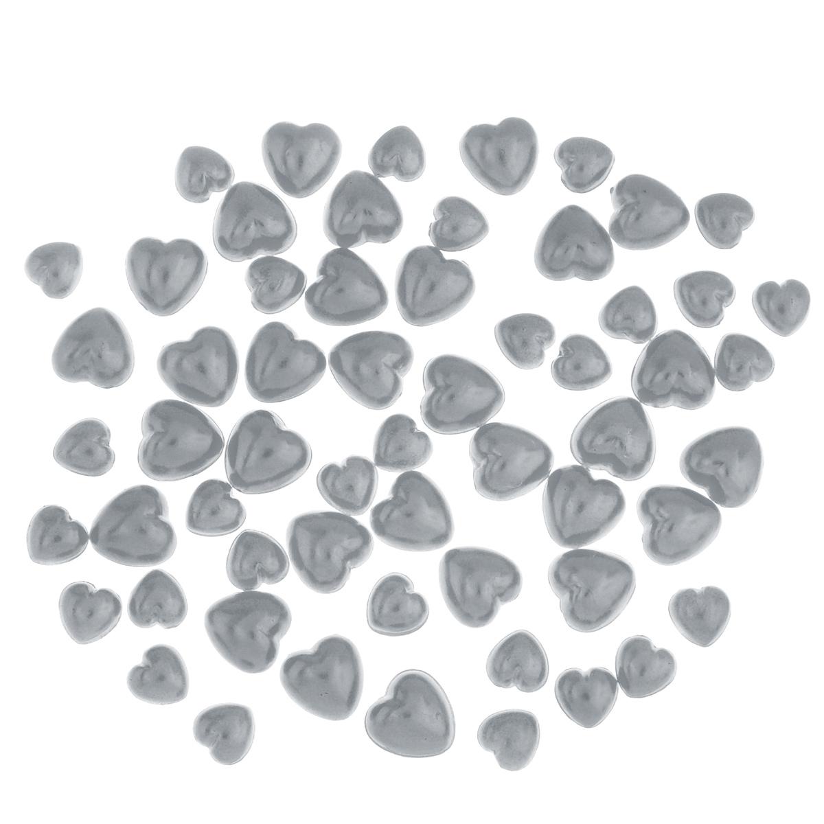 Набор декоративных элементов ScrapBerrys Жемчужные сердечки, цвет: серебряный, 60 штSCB0717518Набор ScrapBerrys Жемчужные сердечки состоит из 60 декоративных элементов, изготовленных из пластика. Изделия выполнены в виде сердец. Такой набор прекрасно подойдет для декора и оформления творческих работ в различных техниках. Декоративные элементы разнообразят вашу работу и добавят вдохновения для новых идей. Размер элементов: 6 мм х 6 мм; 8 мм х 8 мм.