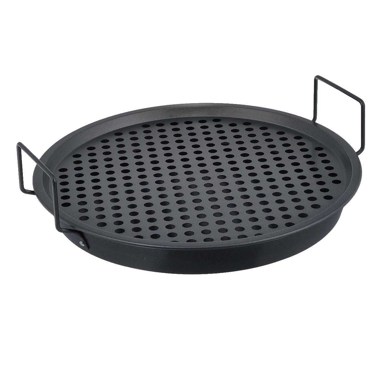 Набор сковородок Sagaform для пиццы , 2 шт5016006Набор Sagaform состоит из двух сковородок, изготовленных из высококачественного металла. Изделия предназначены для приготовления пиццы и барбекю. Одна из сковородок оснащена двумя ручками и высокими бортиками. Дно второй сковородки имеет круглые отверстия и низкие бортики. Изделия можно использовать как вместе, так и по отдельности. Sagaform - это множество ярких инновационных товаров для любителей и профессионалов кулинарного дела. Продукция этой марки хорошо смотрится как на кухне, так и на пикниках, праздниках на открытом воздухе. Лучшие скандинавские дизайнеры создают функциональные продукты для приготовления блюд и сервировки стола. Нельзя мыть в посудомоечной машине. Диаметры сковородок (по верхнему краю): 32 см, 33 см. Высота стенок сковородок: 4 см, 1 см. Диаметры дна сковородок: 29 см, 30 см. Толщина стенок сковородок: 1 мм.