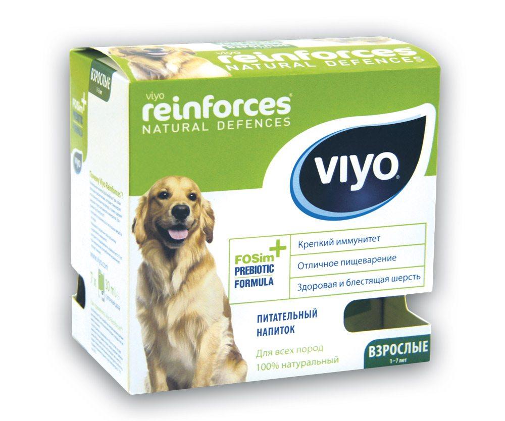 Пребиотический напиток для взрослых собак 7х30 мл VIYO Reinforces Dog Adult
