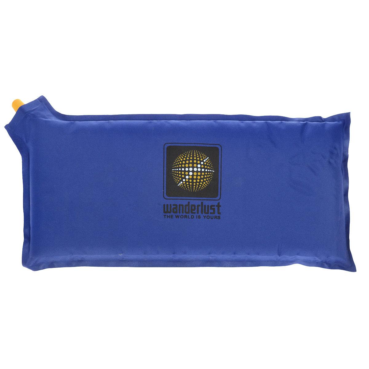 Коврик-сиденье Wanderlust Seat III, самонадувающийся, цвет: синий16083_синийСамонадувающийся коврик-сиденье Wanderlust Seat III станет прекрасной заменой громоздкой кемпинговой мебели. Выполнен из высококачественного полиэстера 75D с пропиткой ПВХ, наполнитель - вспененный полиуретан. В комплект входит ремонтный набор. УВАЖАЕМЫЕ КЛИЕНТЫ! Обращаем ваше внимание на тот факт, что при открытии клапана коврик надувается самостоятельно, но до полной упругости необходим дополнительный поддув.