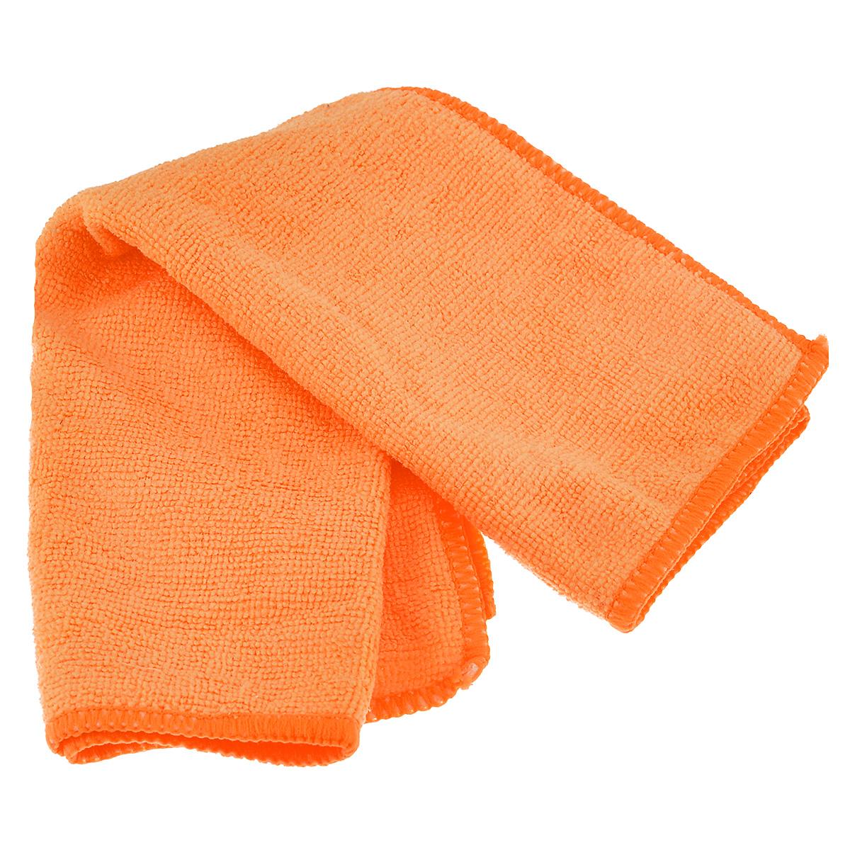 Салфетка из микрофибры Magic Power, для ухода за СВЧ печами и духовыми шкафами, цвет: оранжевый, 35 см х 40 смMP-501_оранжевыйСалфетка Magic Power, изготовленная из микрофибры (75% полиэстера, 25% полиамида), предназначена для ухода за СВЧ печами и духовыми шкафами, для очистки внешней и внутренней поверхности плит и микроволновых печей от любых видов загрязнений, для полировки и придания блеска. Идеально подходит для использования со средствами Magic Power по уходу за СВЧ-печами и духовыми шкафами. Не оставляет разводов и ворсинок. Обладает повышенной прочностью.