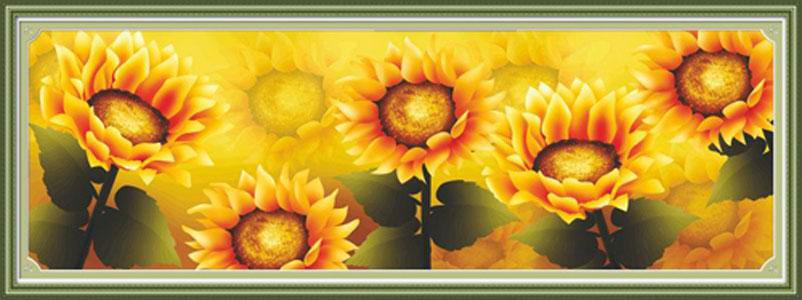 Набор для изготовления картины со стразами Cristal Подсолнухи, 118 х 39 см7711572Набор для изготовления картины со стразами Cristal Подсолнухи поможет вам создать свой личный шедевр. Работа, выполненная своими руками, станет отличным подарком для друзей и близких! Набор содержит: - полотно-схема с нанесенным рисунком и клеевым слоем (129 см х 49 см), - пластиковое блюдце; - стразы (12 цветов); - карандаш; - пинцет; - точилка; - две ватные палочки; - скрепка; - инструкция на русском языке. Подарите близким тепло ваших рук! УВАЖАЕМЫЕ КЛИЕНТЫ! Обращаем ваше внимание, на тот факт, что рамка в комплект не входит, а служит для визуального восприятия товара.