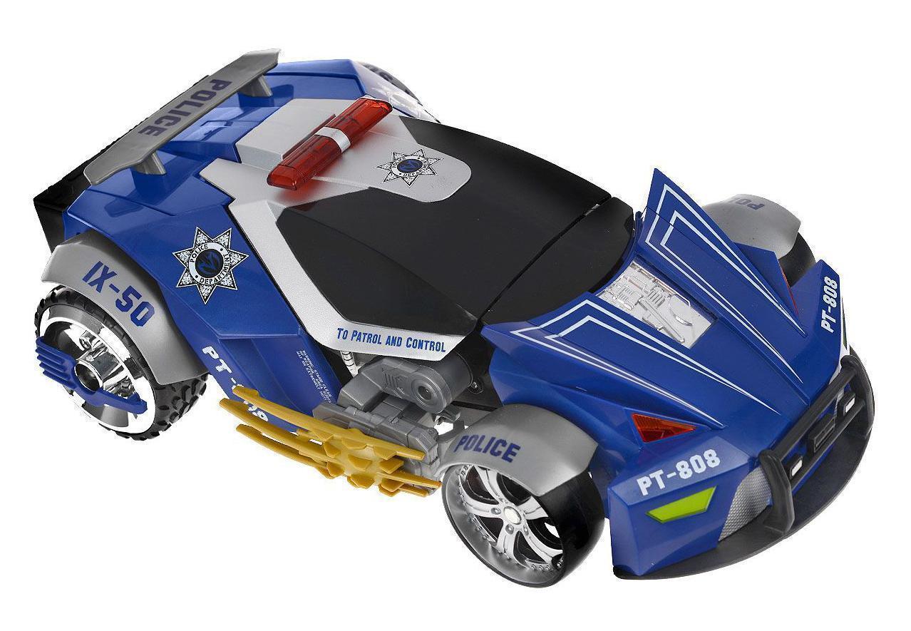 Maisto Машина-трансформер на радиоуправлении Police РТ-808 цвет синий