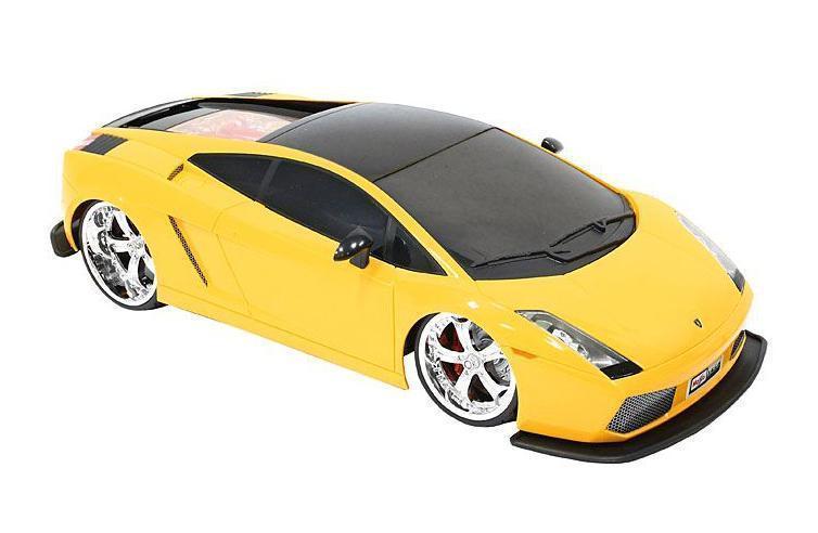 Maisto Радиоуправляемая модель Lamborghini Gallardo цвет желтый81021_желтый