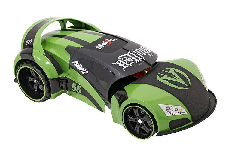 Maisto Машина на радиоуправлении Project 66 цвет черный зеленый