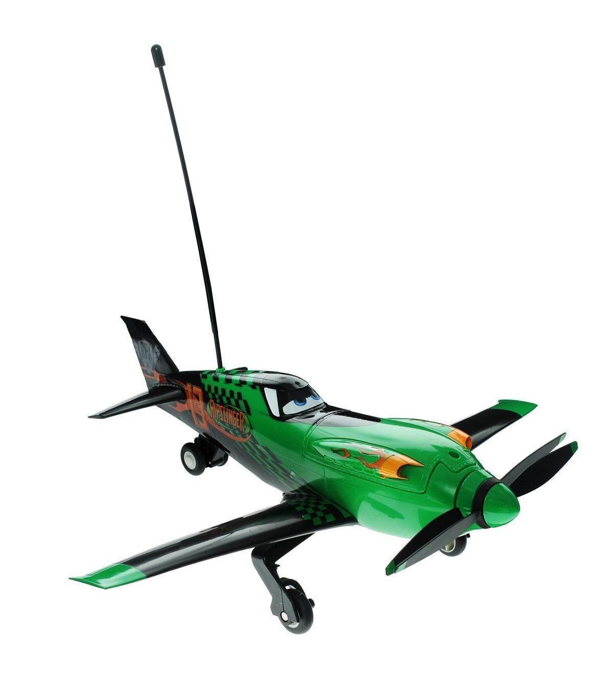 Planes Радиоуправляемый самолет Planes Ripslinger3089805Красочная модель самолета Dickie Toys Planes Ripslinger 3089805 является точной копией мультипликационного персонажа из анимационного фильма Disney «Самолеты». Управление игрушкой сопровождается звуковыми эффектами. Самолет доставит удовольствие вашему ребенку и подарит много приятных часов игры. Рекомендовано для детей возрастом старше 3 лет.