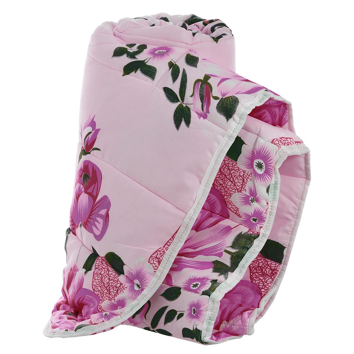 Одеяло всесезонное OL-Tex Miotex, наполнитель: полиэфирное волокно Holfiteks, цвет: розовый, красный, 172 х 205 смМХПЭ-18-3_розовыйВсесезонное одеяло OL-Tex Miotex создаст комфорт и уют во время сна. Стеганый чехол выполнен из полиэстера и оформлен красивым рисунком. Внутри - наполнитель из полиэфирного высокосиликонизированного волокна Holfiteks, упругий и качественный. Холфитекс - современный экологически чистый синтетический материал, изготовленный по новейшим технологиям. Его уникальность заключается в расположении волокон, которые позволяют моментально восстанавливать форму и сохранять ее долгое время. Изделия с использованием Холфитекса очень удобны в эксплуатации - их можно часто стирать без потери потребительских свойств, они быстро высыхают, не впитывают запахов и совершенно гиппоаллергенны. Холфитекс также обеспечивает хорошую терморегуляцию, поэтому изделия с наполнителем из холфитекса очень комфортны в использовании. Одеяло с наполнителем Холфитекс порадует вас в любое время года. Оно комфортно согревает и создает отличный микроклимат. За одеялом легко ухаживать, можно стирать в...
