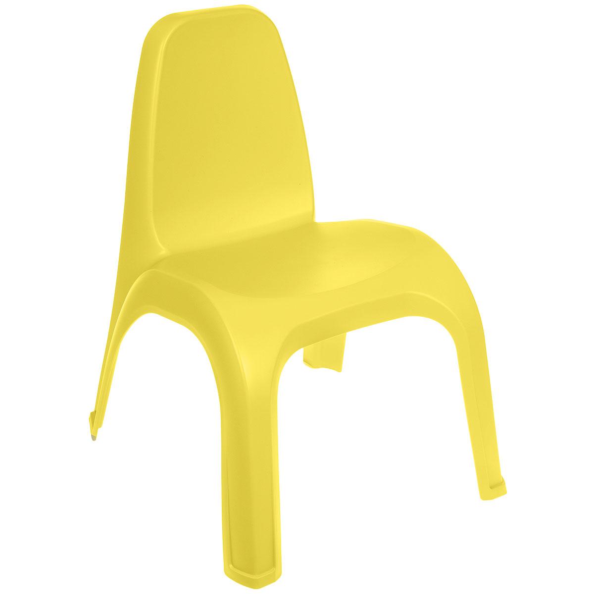 Стульчик детский Пластишка, цвет: желтый. С13601