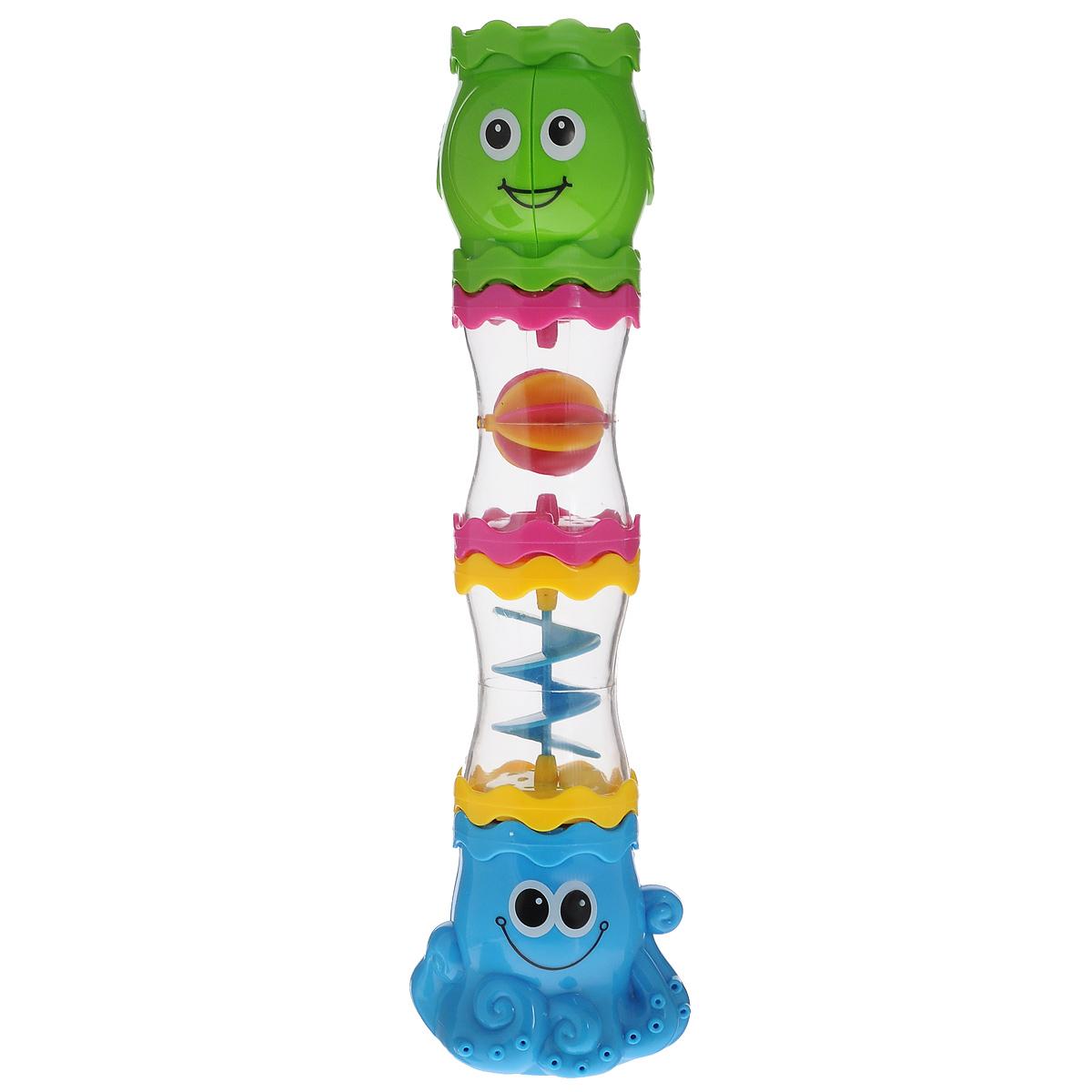 Игровой набор для ванной Mioshi ОсьминожкиTY9052Игровой набор для ванной Mioshi Осьминожки превратит обычное купание в увлекательную игру! Играя, малыш развивает мелкую моторику, восприятие формы и цвета предметов, а также слух и зрение. Элементы игрушек выполнены в виде веселых осьминогов. Набор состоит из четырех элементов. Игрушки Mioshi созданы специально для малышей, которые только начинают познавать этот волшебный мир. Дети в раннем возрасте всегда очень любознательны, они тщательно исследуют все, что попадает им в руки. Заботясь о здоровье и безопасности малышей, Mioshi выпускает только качественную продукцию, которая прошла сертификацию.