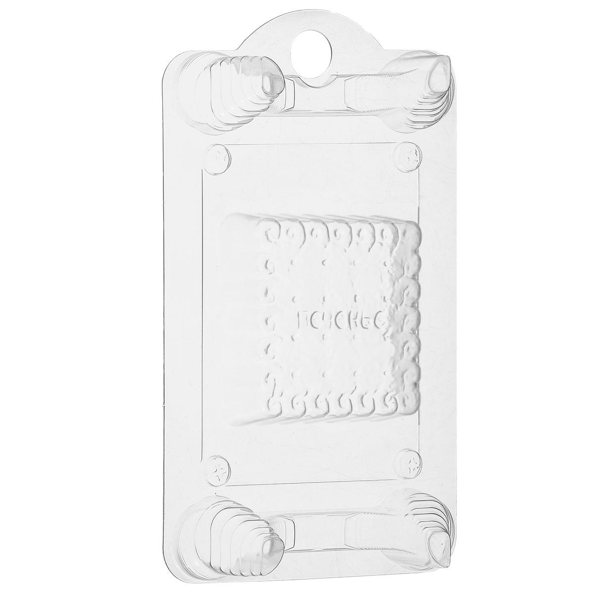 Форма пластиковая Печенье, на ножках, 19 х 11,5 х 3 см2700770024364Пластиковая форма Печенье позволяет изготовить оригинальное и красивое мыло ручной работы. Она выдерживает температуру до 67°С. Если вы всерьез увлеклись изготовлением мыла, такая форма вам просто необходима! Также изделие можно использовать при проведении мастер-классов, обучении детей и новичков мыловарению. Благодаря специальным четырем ножкам, форма устойчиво стоит на любой твердой поверхности, а мыло быстро застывает, так что вы почти сразу увидите готовый результат. По окончании работы у вас получится превосходное мыло в виде печенья. Общий размер формы: 19 см х 11,5 см х 3 см. Размер формочки для мыла: 6,5 см х 6,5 см х 2,3 см.