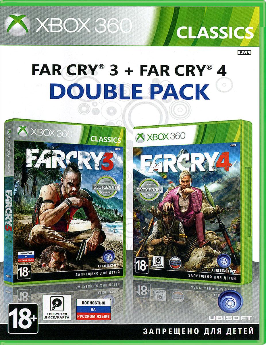 Комплект Far Cry 3 + Far Cry 4 (Xbox 360)