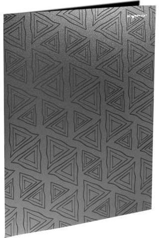 Silwerhof Папка с двумя боковыми карманами, р=0.4мм, DELTA, пепельная арт.255024-23 ед.изм.Шт