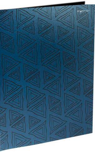 Папка с двумя боковыми карманами, р=0.4мм, DELTA, синяя арт.255024-21 ед.изм.Шт255024-21