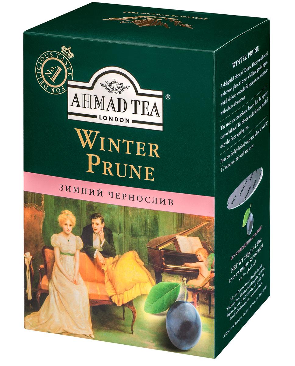 Ahmad Tea Winter Prune, 250 г1197Сладкий, насыщенный, с легкой кислинкой вкус чернослива обрамляет букет восхитительного китайского черного чая в композиции Ahmad Winter Prune, подобно прозрачному бриллианту в драгоценной оправе. В Японии и Китае дерево сливы начинает цветение в конце зимы, благодаря чему цветок сливы считается символом весны, торжествующей над зимой. Заваривать 4-5 минут, температура воды 100°С.