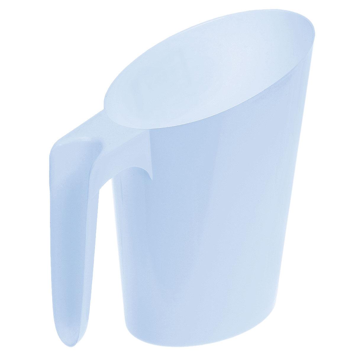 Кувшин-подставка для молочного пакета Idea, цвет: голубойМ 1216_голубойКувшин-подставка для молочного пакета Idea изготовлен из высококачественного пищевого полипропилена (пластика). Изделие предназначено для хранения пакетов с кефиром и молоком, что очень удобно, так как такие пакеты всегда протекают и их очень неудобно хранить. Кувшин-подставка с легкостью решит эту проблему. Изделие практичное, функциональное, имеет стильный современный дизайн. Поверхность гладкая, легко чистится.