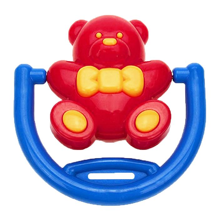 Погремушка Малышарики Мишка на качеляхMSH0302-007Яркая и красочная погремушка Малышарики Мишка на качелях обязательно привлечет внимание малыша и поможет ему начать познавать мир, развивая необходимые в будущем навыки и способности. Погремушка выполнена из безопасных материалов в виде очаровательного мишки, и оснащена удобной ручкой, за которую малыш сможет держаться. При встряхивании игрушка тихо гремит. Забавная погремушка поможет малышу научиться фокусировать внимание, держать предметы, различать звуки, а также познакомит с формами и цветами. С первых месяцев жизни малыш начинает интересоваться яркими, подвижными предметами, ведь они являются его главными помощниками в изучении удивительного мира. Погремушка развивает мелкую моторику и слуховое восприятие.