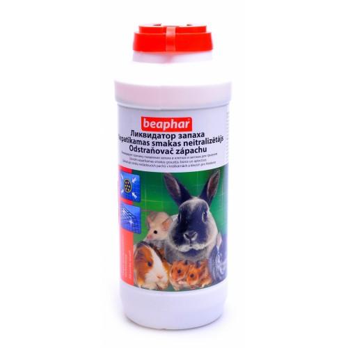 Beaphar ликвидатор запаха для клеток и загонов грызунов 600 г13915Ликвидатор запаха является инновационной смесью природных дру- жественных микробов, блокаторов ферментов и приятных ароматизато- ров. Инновационные блокаторы ферментов, содержащиеся в данном про- дукте, предотвращают возможность возникновения запахов. Кроме того, микробы дезодоранта предотвращают возникновение запахов, а также расщепляют вредные соединения мочи на двуокись углерода и воду. Ликвидатор запаха может использоваться в качестве дезодоранта за- пахов общего и специфического характера. Продукт предотвращает запахи несколькими способами. Сначала уникальная технология инкапсуляции мочи быстро захватывает источники запаха и, таким образом, избавля- ет наполнитель от запахов. Затем почти сразу же блокатор ферментов начинает действовать. Принцип работы данного продукта заключается в предотвращении накопления уреазы – фермента, вызывающего пре- вращение мочи в аммиак, который является крайне зловонным. Продукт действует даже в долгосрочной перспективе, разлагая вещества,...