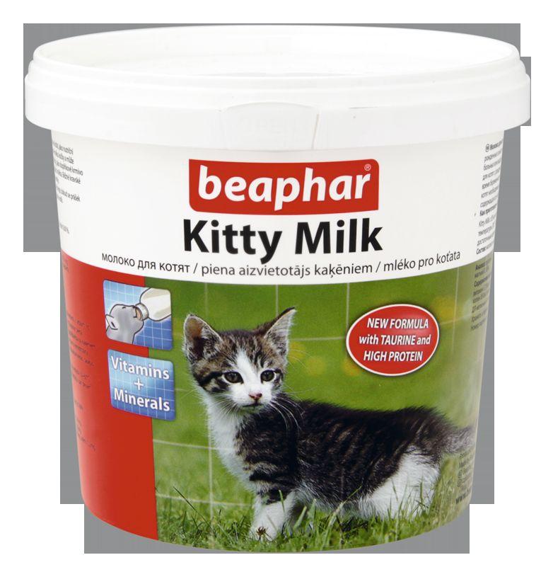 Beaphar Kitty-Milk молочная смесь для котят 500 г29311Kitty Milk может быть использовано как полноценный корм при отсут- ствии материнского молока для котят в возрасте от 24 дней. Оно пригод- но также для беременных и кормящих животных. Kitty Milk – это пол- ноценная замена молока матери, содержащая все необходимые белки, жиры, витамины, минералы в оптимальном соотношении.