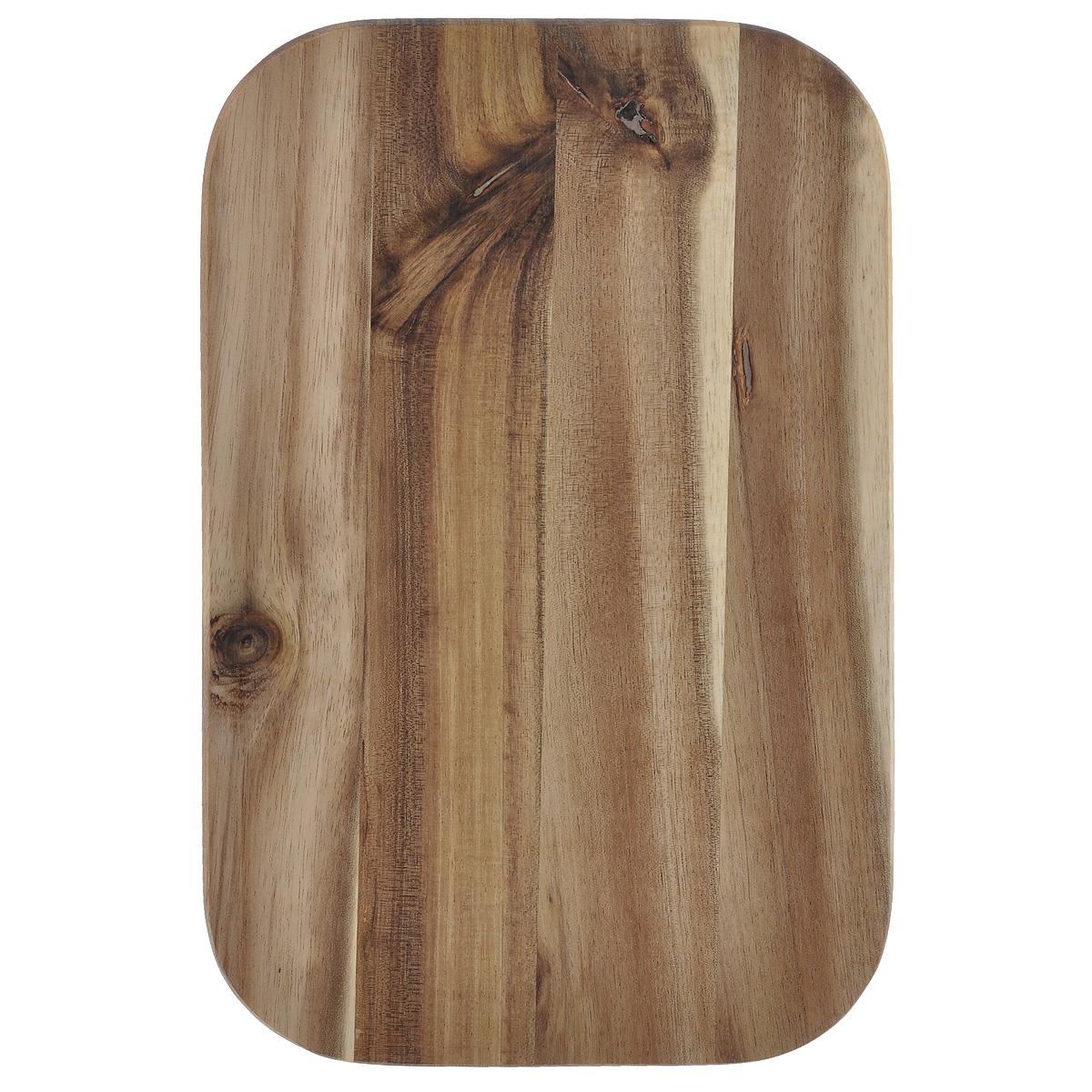 Доска разделочная Kesper, 23 см х 15 см. 2340-02340-0Разделочная доска Kesper изготовлена из натурального дерева акации. Благодаря среднему размеру на ней удобно разделывать различные продукты и она не занимает много места. Функциональная и простая в использовании, разделочная доска Kesper прекрасно впишется в интерьер любой кухни и прослужит вам долгие годы. Для мытья использовать неабразивные моющие средства.