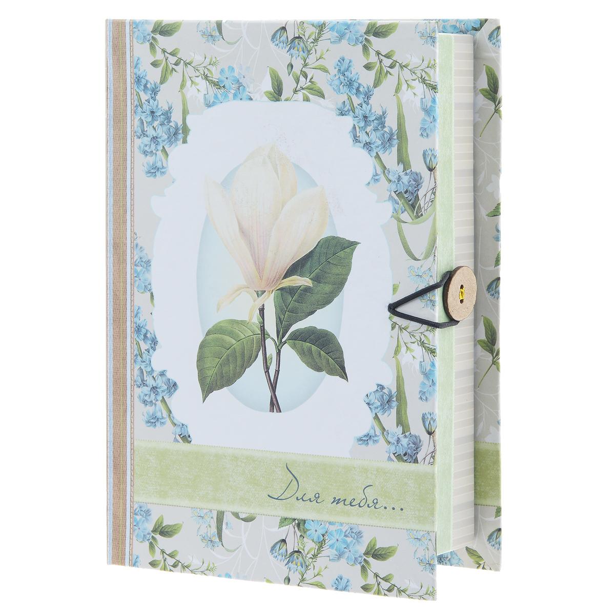 Подарочная коробка Летние цветы, 18 см х 12 см х 5 см орхидея подарочная в упаковке