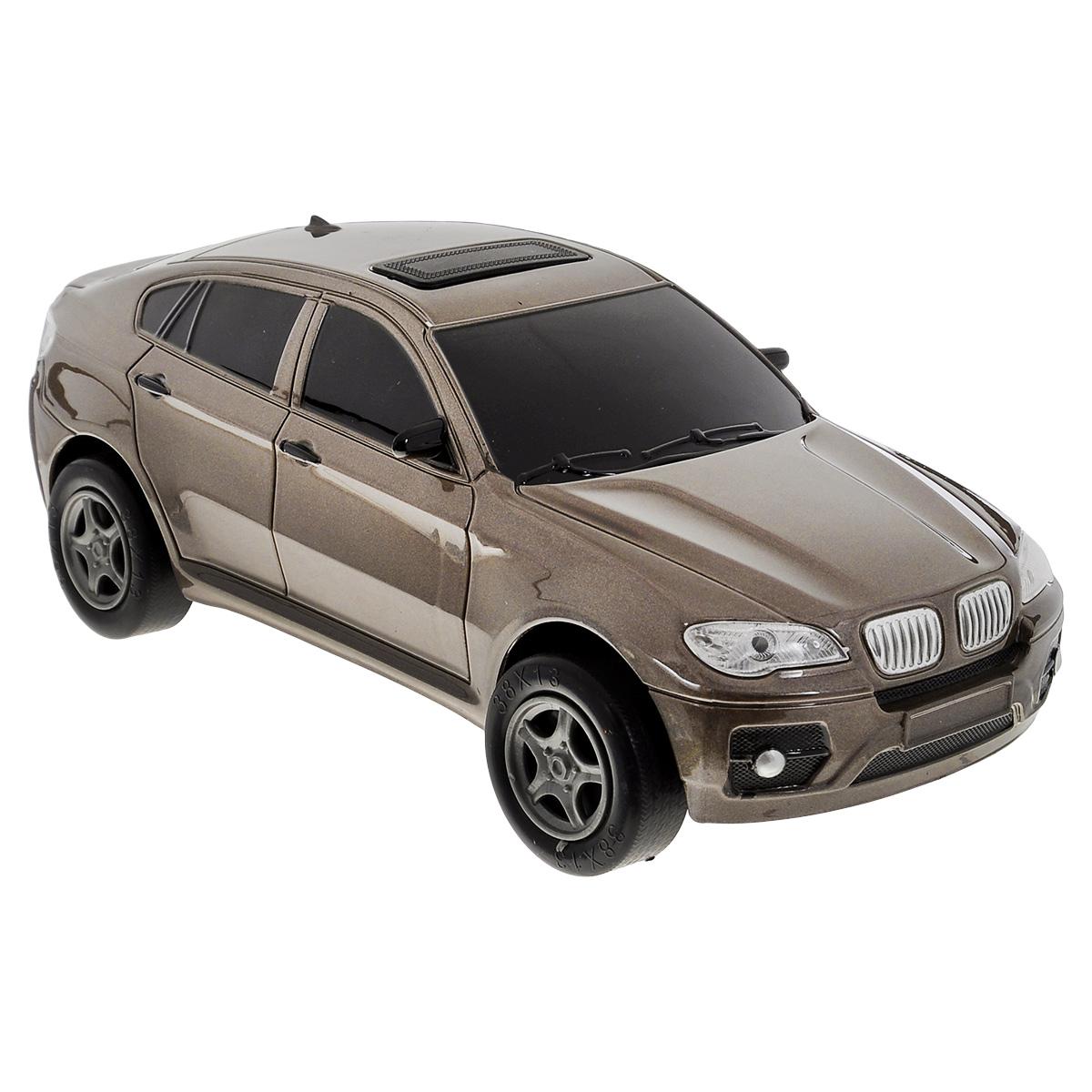 Пламенный мотор Машинка инерционная BMW цвет коричневый87429Игрушечный автомобиль Пламенный мотор с инерционным механизмом обязательно понравится вашему малышу. Он привлечет внимание вашего ребенка и надолго останется его любимой игрушкой. Машинка выполнена из пластмассы с элементами металла. Благодаря инерционному механизму игрушка может двигаться самостоятельно, стоит только откатить машинку назад, а затем отпустить, и она поедет вперед. Игрушка развивает концентрацию внимания, координацию движений, мелкую моторику рук, цветовое восприятие и воображение. Малыш будет в восторге от такого подарка!