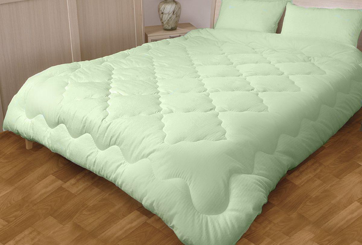 """Одеяло Primavelle """"EcoBamboo"""", наполнитель: бамбуковое волокно, цвет: светло-зеленый, 200 х 220 см"""