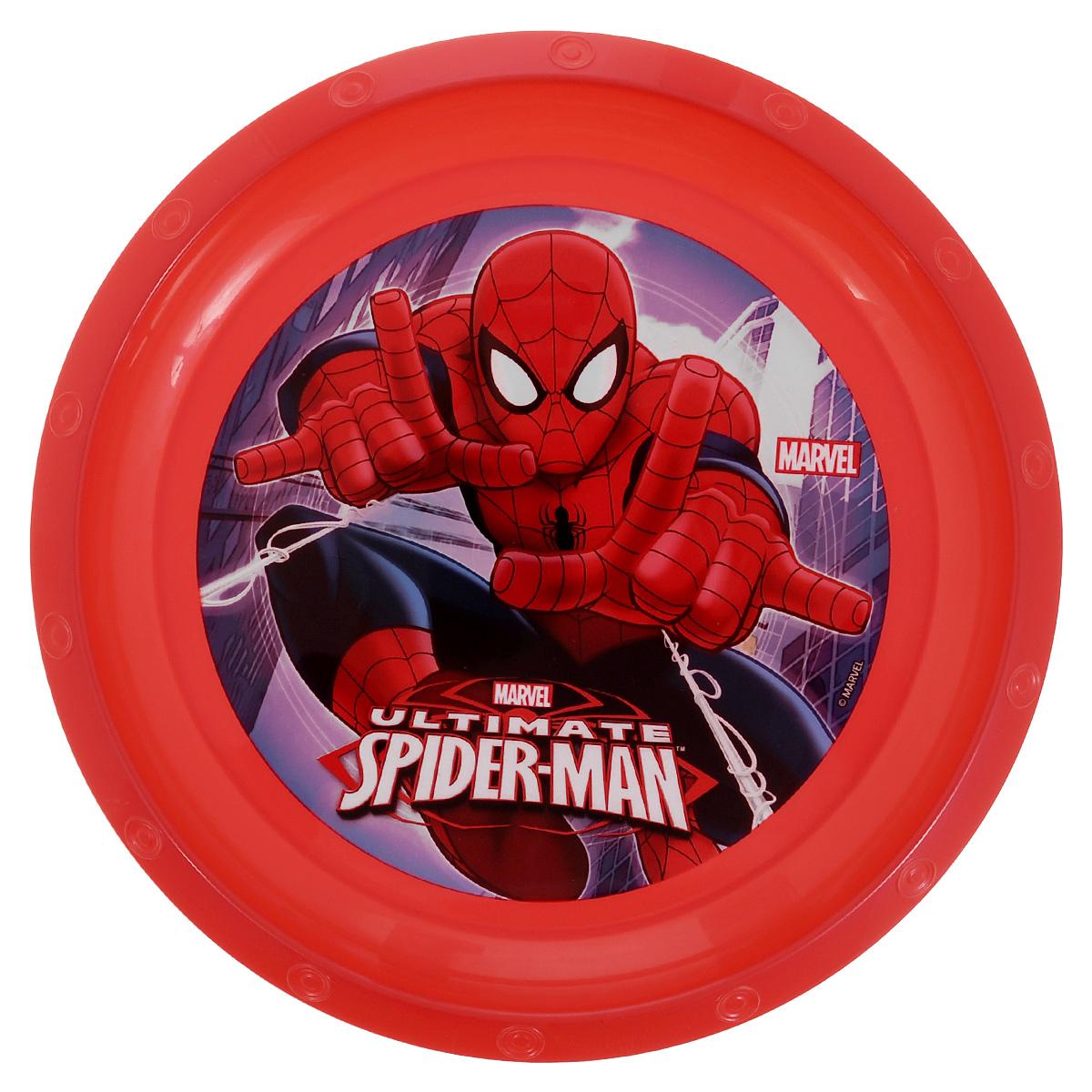 Тарелка Marvel