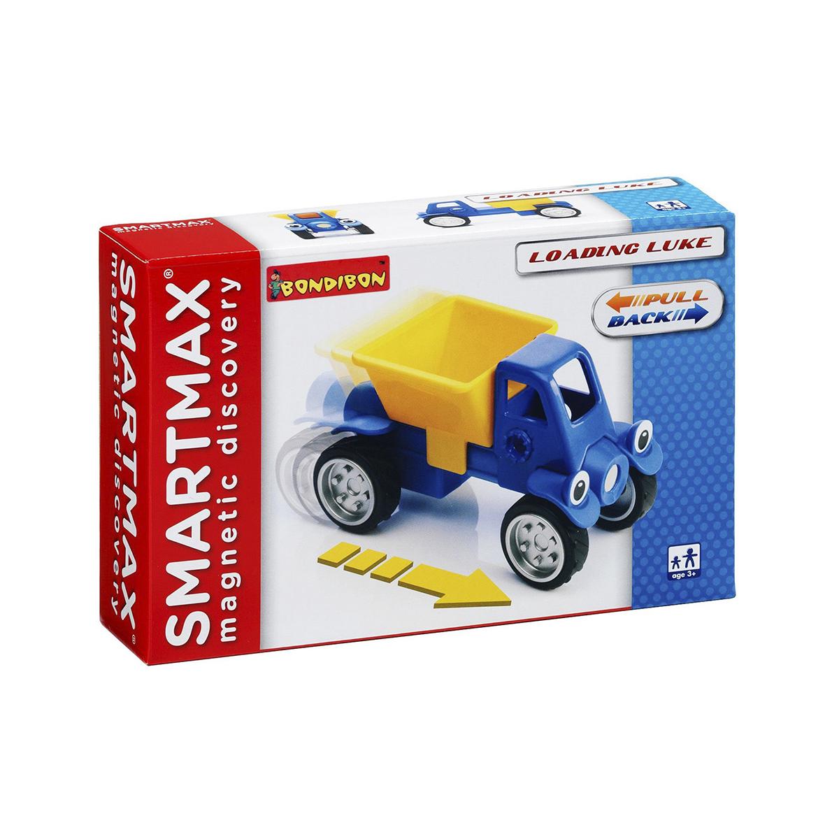 Bondibon Конструктор магнитный Smartmax Грузовичок Люк