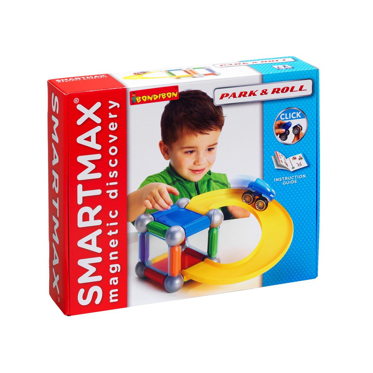 Bondibon Smartmax Конструктор магнитный Специальный набор ПаркингВВ0908Ваш ребенок очень активно проявляет воображение? Направить в нужное русло такой дар поможет наш магнитный конструктор SmartMax. Невероятное притяжение внимания и сосредоточенность в процессе изучения физических свойств магнитиков – это настолько приятное зрелище для родителей, что отказаться от такой игры просто невозможно! Малыши и дети постарше найдут применение всем деталям конструктора, каждый – свое, конечно, но обязательно это будет увлекательный и долгий процесс. Магнитный конструктор SMARTMAX Специальный набор: Паркинг непременно придется по душе Вашему ребенку и займет его внимание надолго. Крупные детали, яркие цвета и простота соединения внесут шикарное разнообразие в досуг малышей и помогут им развиваться. Прояви фантазию и построй свой собственный многоуровневый паркинг! Из деталей набора можно собрать всевозможные конструкции, а с помощью дополнительных плит укрепить их, построив стены, уровни, дороги! Игра с конструктором поможет ребенку научиться...