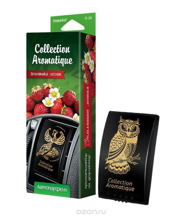 Аромат Земляника лесная D-26 на дефлектор Дороги мира серии Collection Aromatique, box