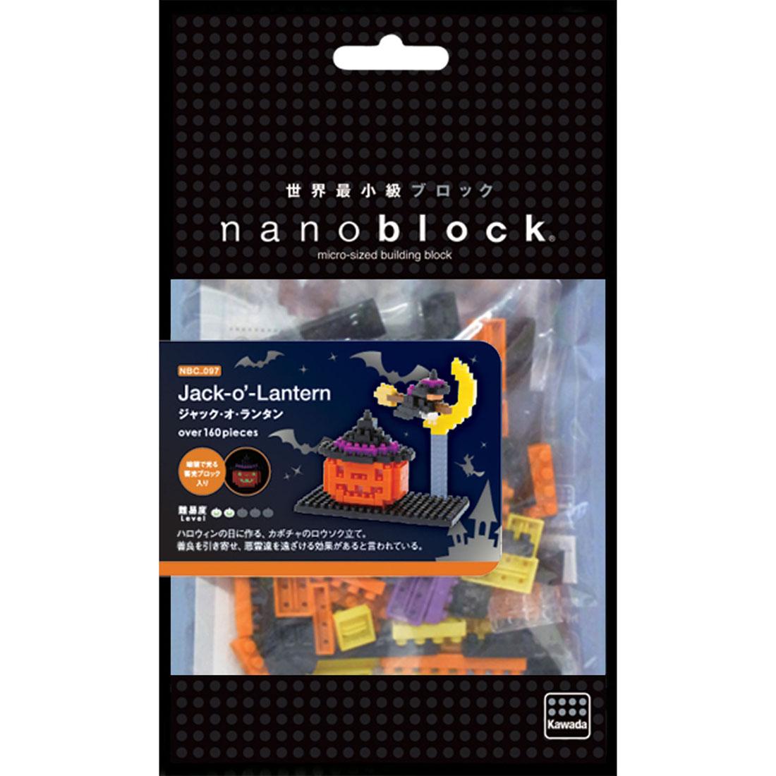 NanoBlock Мини-конструктор Фонарь из тыквы