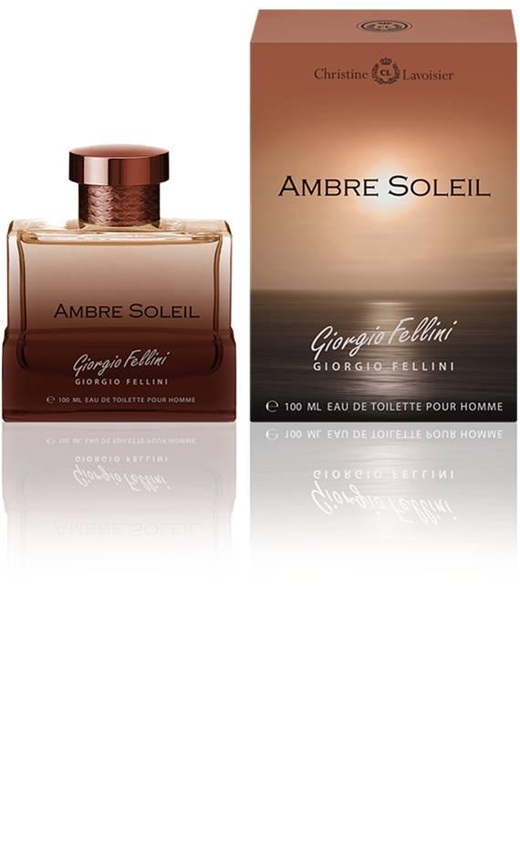 Christine Lavoisier Giorgio Fellini Ambre Soleil. Туалетная вода, мужская, 100 мл0737052884172Верхние ноты: мандарин, грейпфрут Ноты «сердца»: жасмин, роза, мускус Ноты шлейфа: амбра, ваниль