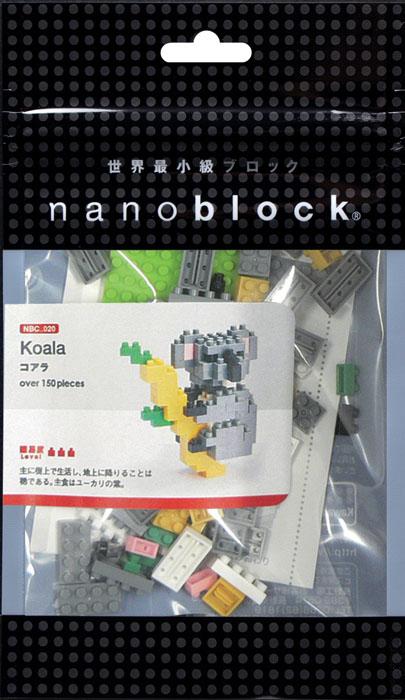 Nanoblock Мини-конструктор Коала гаджет fototo nanoblock фотоаппарат конструктор