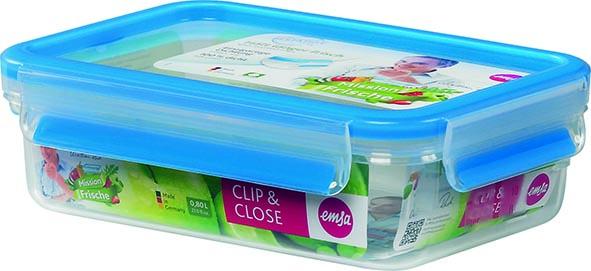 Контейнер пластиковый CLIP&CLOSE прямоугольный, объем - 0.55л508538Контейнер пластиковый CLIP&CLOSE прямоугольный, объем - 0.55л