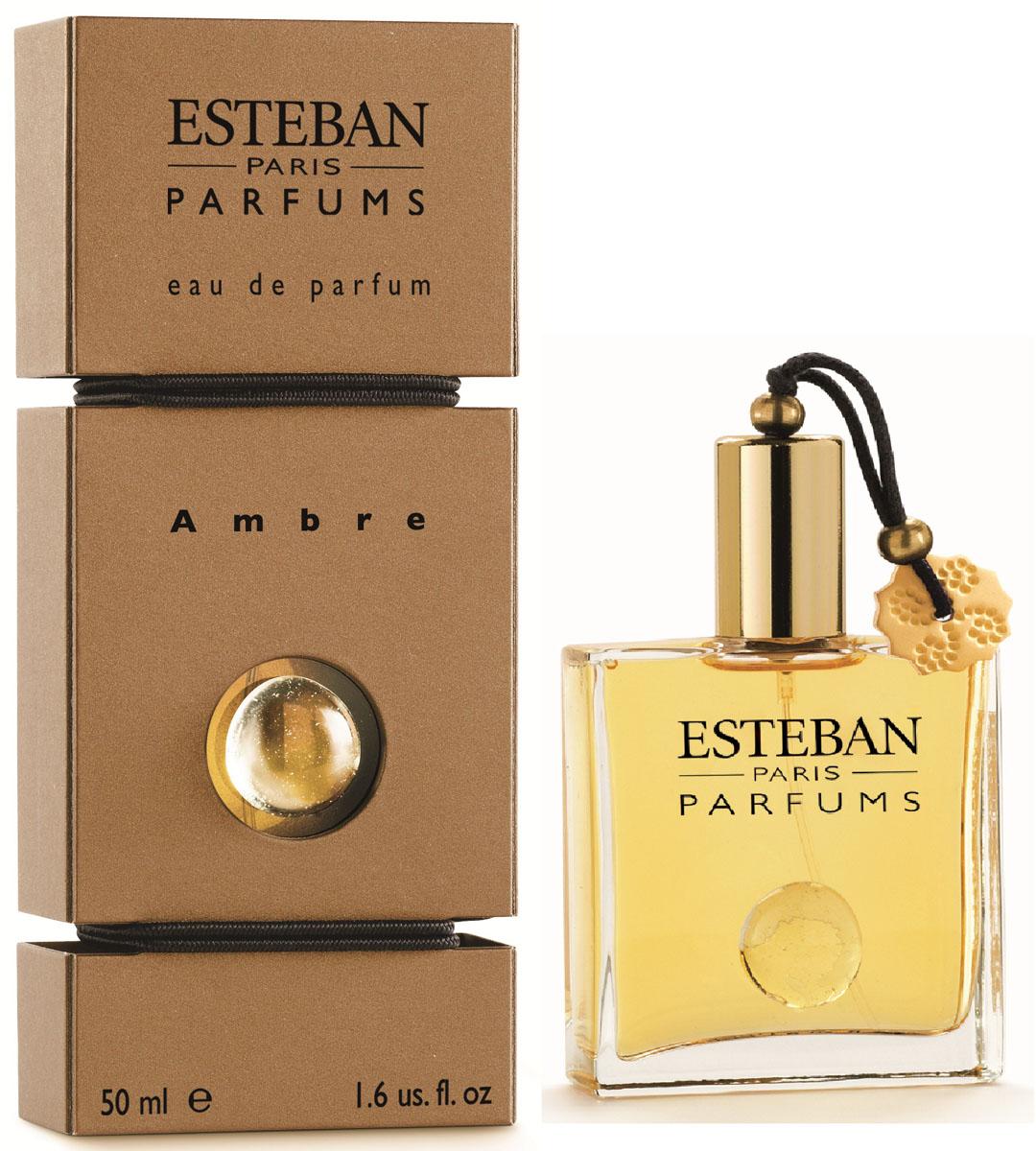 Esteban Collection Les Matieres Парфюмерная вода Ambre 50 млCPA-023