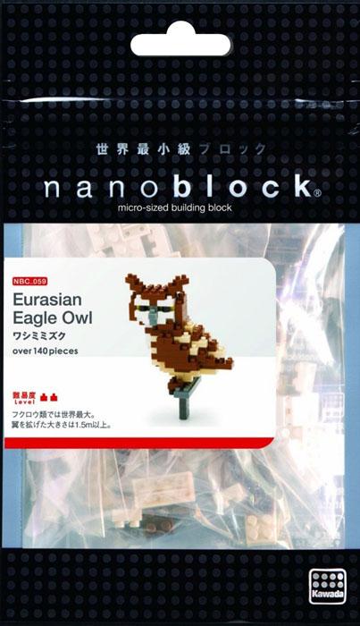 Nanoblock Мини-конструктор Сова ( NBC_059 )
