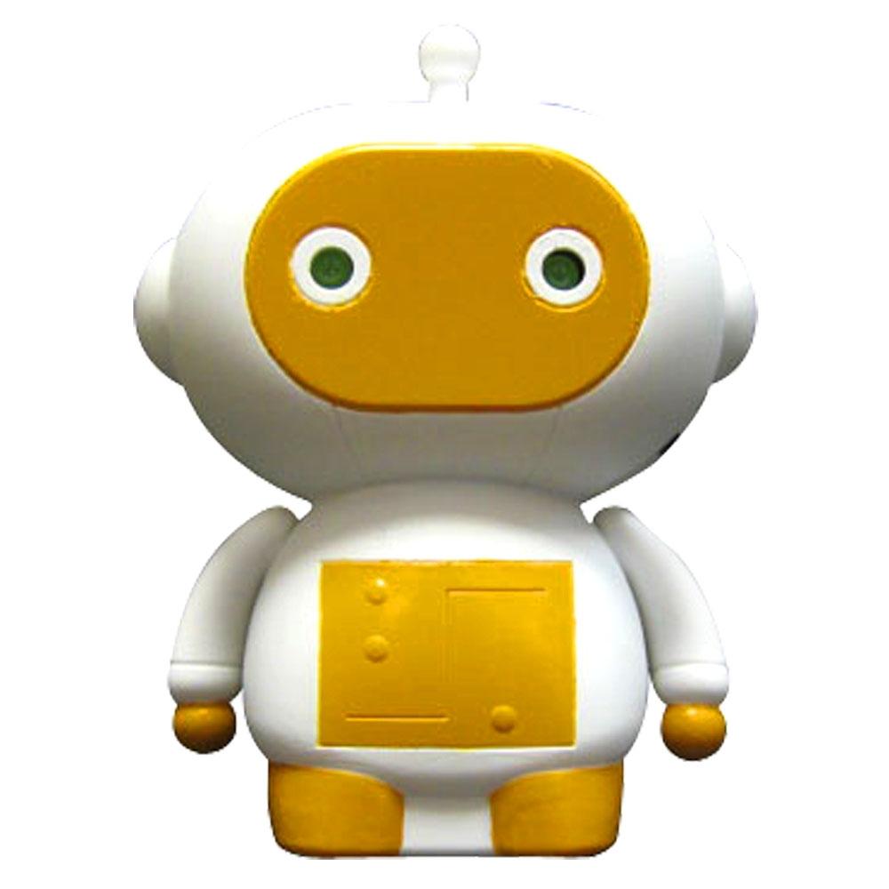 Zibits Мини-робот на радиоуправлении Динч30430Динч - неуклюжий мечтатель, который постоянно ремонтирует детали, которые сам же случайно сломал. Являясь сотрудником научной лаборатории, входит в состав командыZ-7. Большую часть открытий Динч делает, попадая в забавные ситуации. Это происходит, потому что Динч, замечтавшись, не смотрит куда идет. Динч гений, но ему трудно удержаться от падения вверх тормашками в мусорное ведро. Мини-робот Динч отличается оригинальным дизайном, а его некоторые детали светятся в темноте. Он двигается вперед и назад, разворачивается на 360 градусов, а также издает забавные звуки. Управление роботом происходит от пульта.