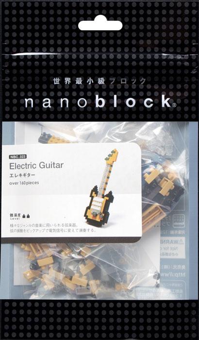 Nanoblock Мини-конструктор Электрогитара гаджет fototo nanoblock фотоаппарат конструктор
