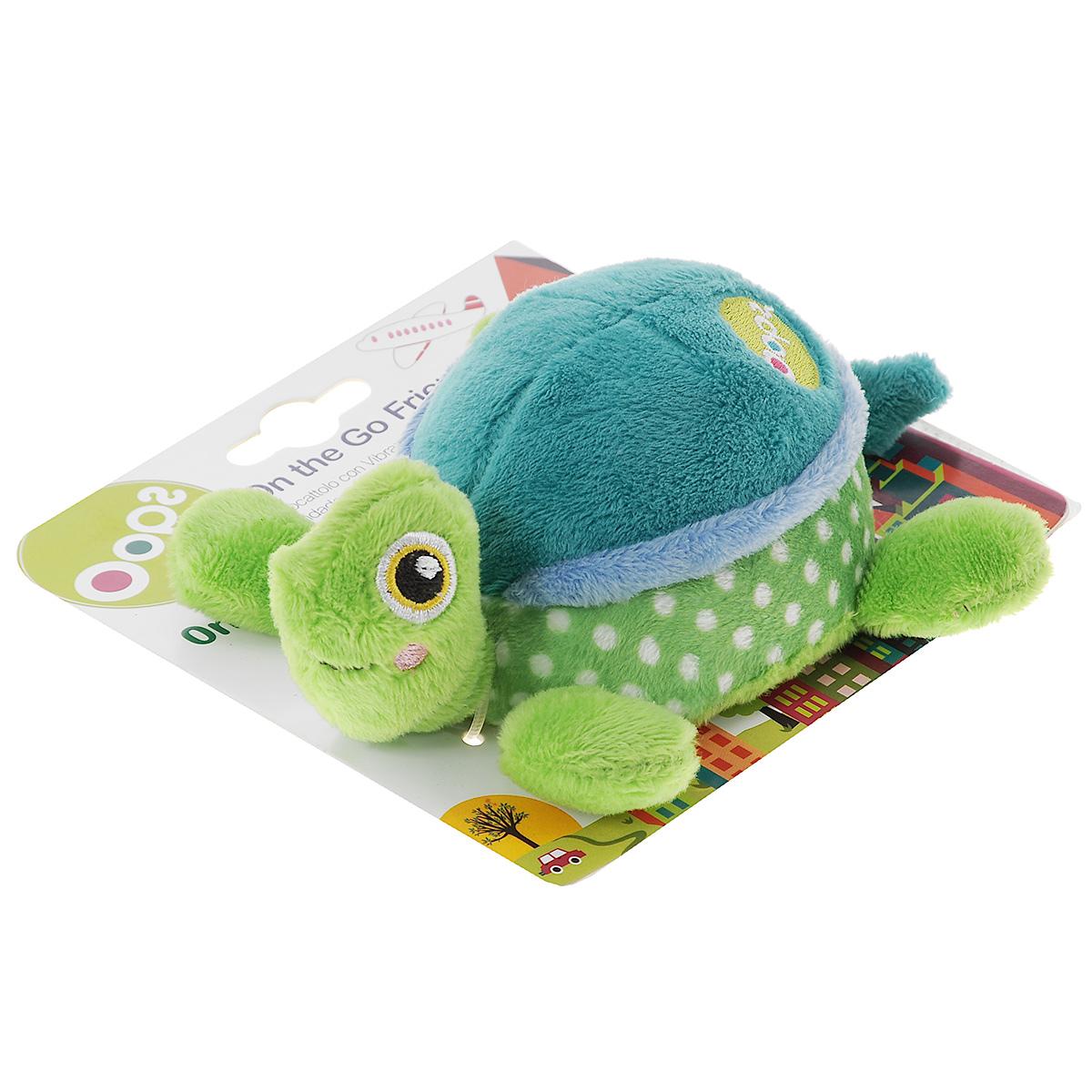Игрушка развивающая OOPS Черепаха, цвет: зеленый, голубойO 13001.00_зеленый, голубойИгрушка развивающая OOPS Черепаха изготовлена из высококачественных текстильных материалов, безопасных для детей маленького возраста. Игрушка представляет собой забавную черепашку. Если ее потянуть за хвостик, то игрушка завибрирует. Игрушка мягкая, ее приятно сжимать и трогать. Развивающая игрушка OOPS Черепаха способствует развитию мелкой моторики и зрительно-цветовому восприятию. Такая игрушка обязательно понравится вашему ребенку.