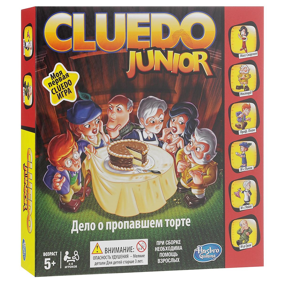"Игра Cluedo Junior ""Дело о пропавшем торте"" ( B0335121 )"