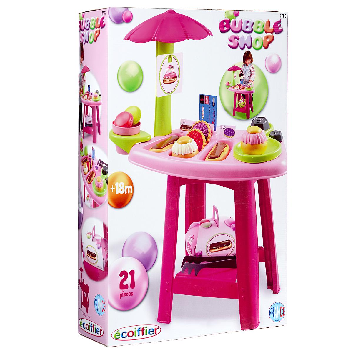 Игровой набор Ecoiffier «Кондитерский мини-магазин», 21 предмет