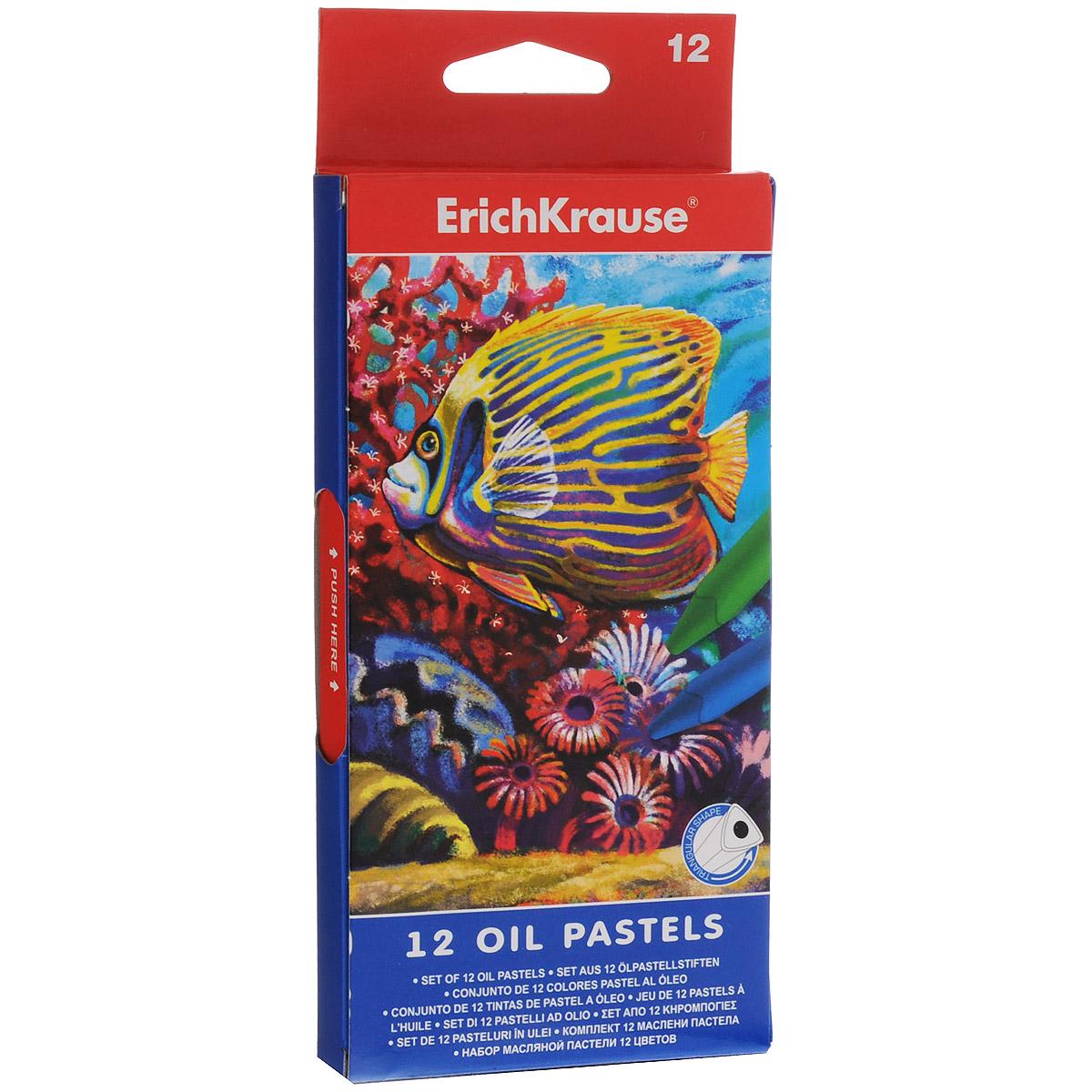 Пастель масляная Erich Krause, 12 цветов. EK 34933EK 34933Пастель масляная Erich Krause предназначена для эскизных и живописных работ. Пастель изготовлена с использованием пигментов и восков. Обладает мягкой текстурой и насыщенными цветами. Не крошится при рисовании, мягко ложится на бумагу. Каждый мелок в индивидуальной бумажной обертке. Длина мелка: 7,5 см.