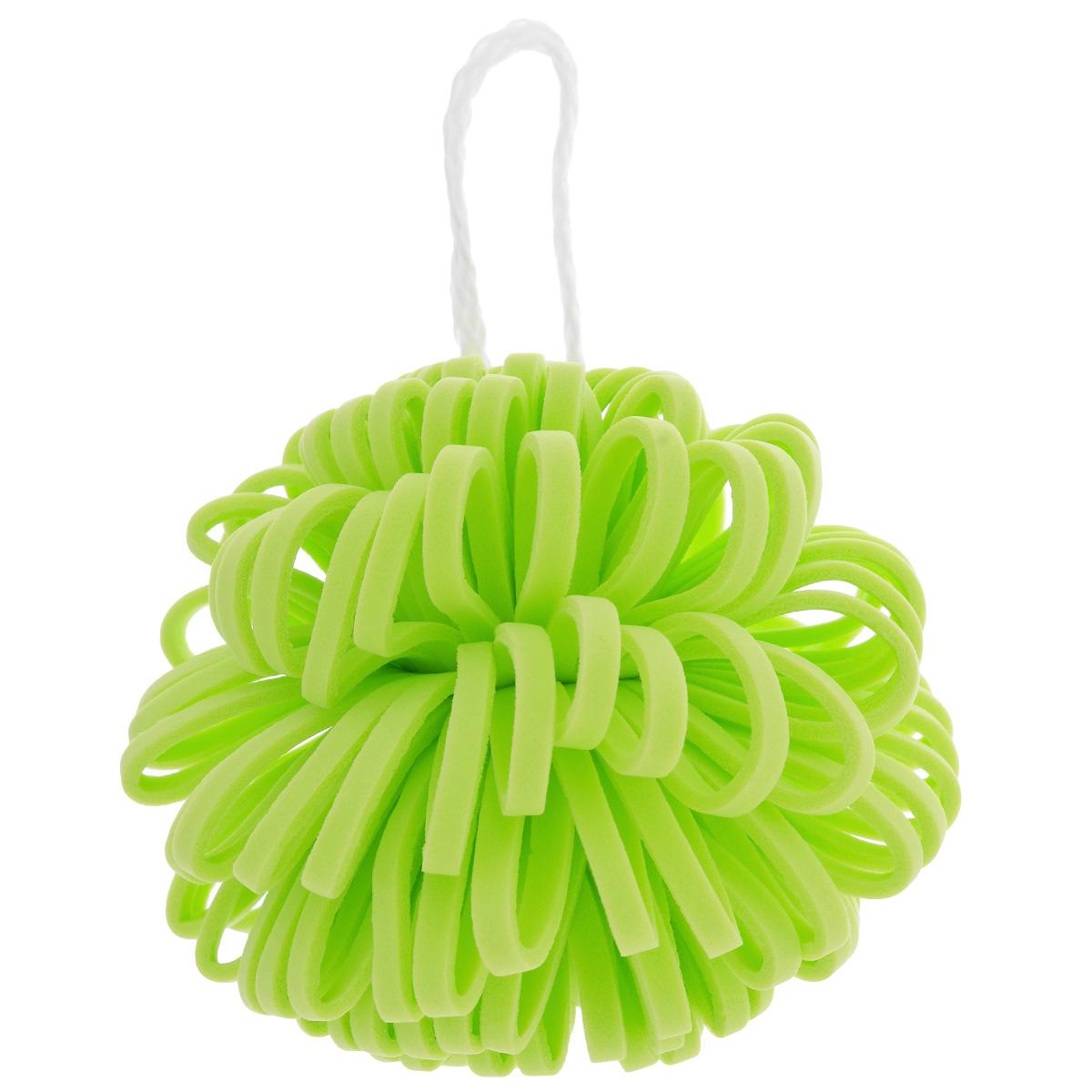 Мочалка Банные штучки Георгин для нежной и чувствительной кожи, цвет: салатовый40087_салатовыйМочалка Банные штучки Георгин изготовлена из синтетического полимера в виде цветка георгина. Она подходит для нежной и чувствительной кожи. Прекрасно взбивает мыло и гель для душа, дает обильную пену, обладает легким массажным воздействием. На мочалке имеется удобная петля для подвешивания. Перед применением мочалку необходимо смочить водой, и она станет мягкой. Мочалка Георгин станет незаменимым аксессуаром в ванной комнате.