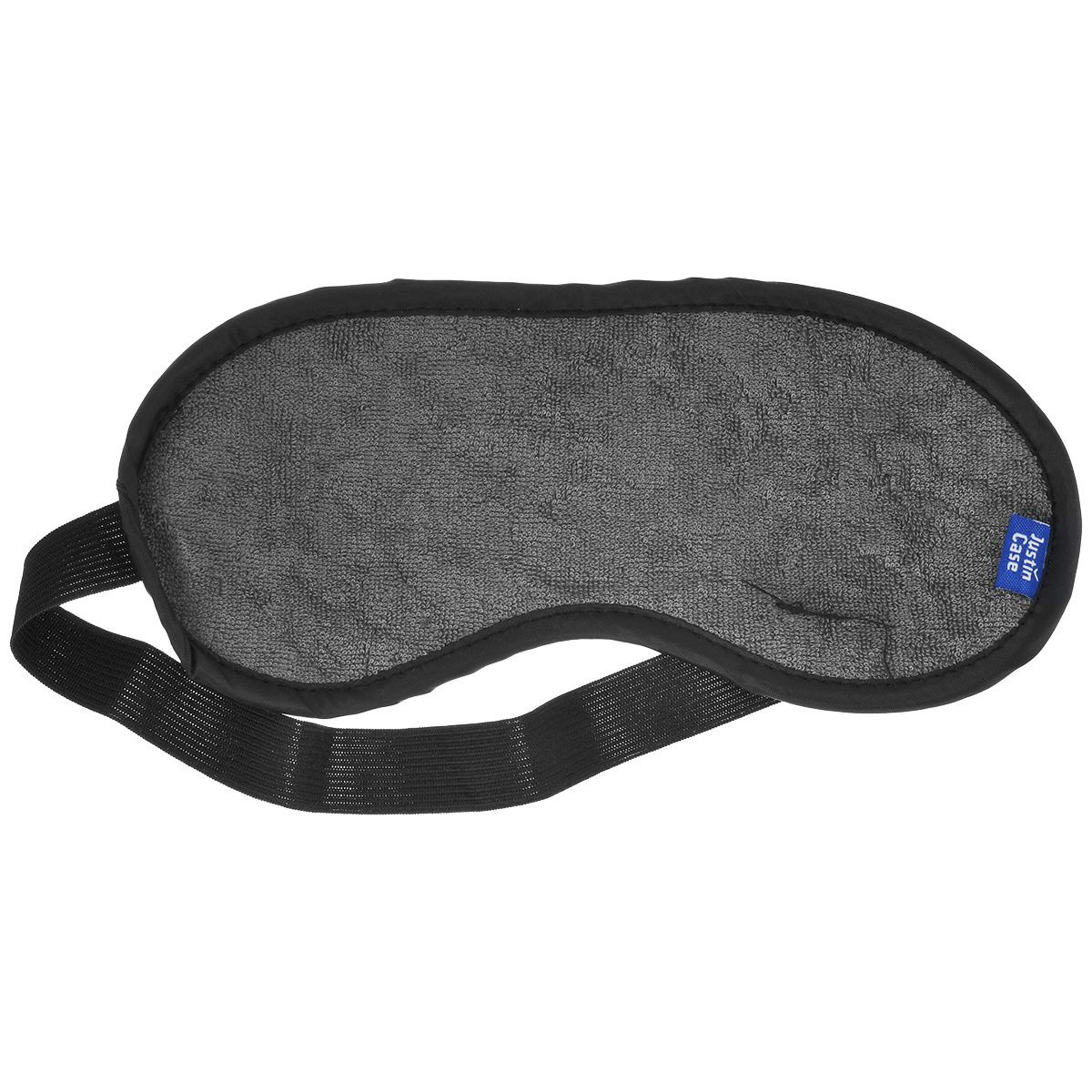 Маска для сна JustinCase, цвет: серый, черныйE5112GМаска для сна JustinCase надежно защитит ваш крепкий сон, а ее приятная текстура обеспечит максимальный комфорт. Благодаря резинке маска имеет универсальный размер. Спите с комфортом, где бы вы ни были! Размер рабочей части: 21,5 см х 9 см.