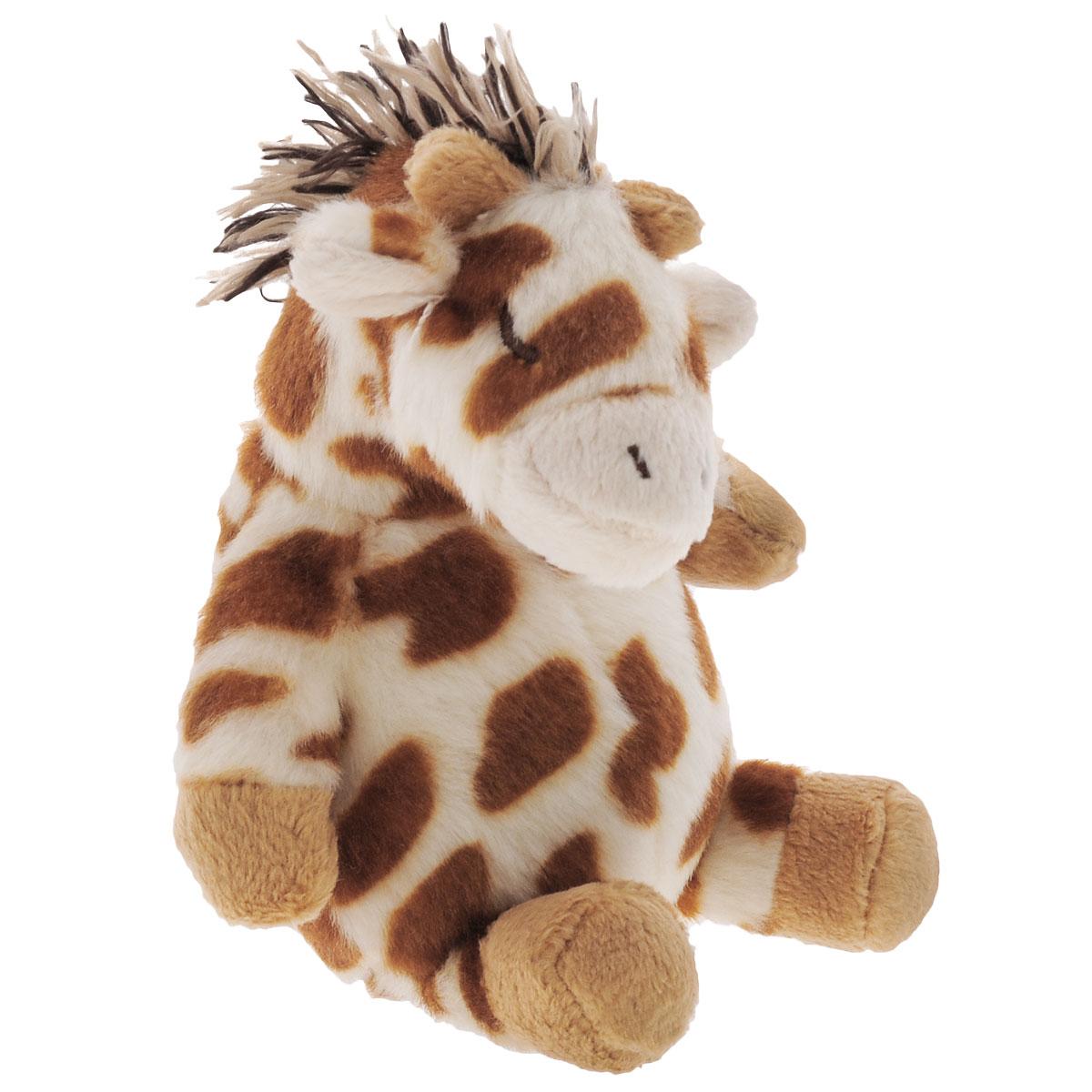 Мягкая игрушка-погремушка Cloud B Жирафик7361-ZZ-RUМягкая игрушка-погремушка Cloud B Жирафик привлечет внимание малыша и не позволит ему скучать. Выполнена из безопасных материалов в виде жирафа. Погремушка идеальна для маленьких ручек малыша. При тряске издает негромкий звук. Мягкая игрушка-погремушка способствует развитию мышления, координации движений, звукового и цветового восприятия, тактильных ощущений, совершенствует моторику нежных пальчиков малыша. Ваш малыш обязательно полюбит игрушку, а игры с ней будут не только увлекательными, но и полезными для развития малыша. Порадуйте своего ребенка таким замечательным подарком.
