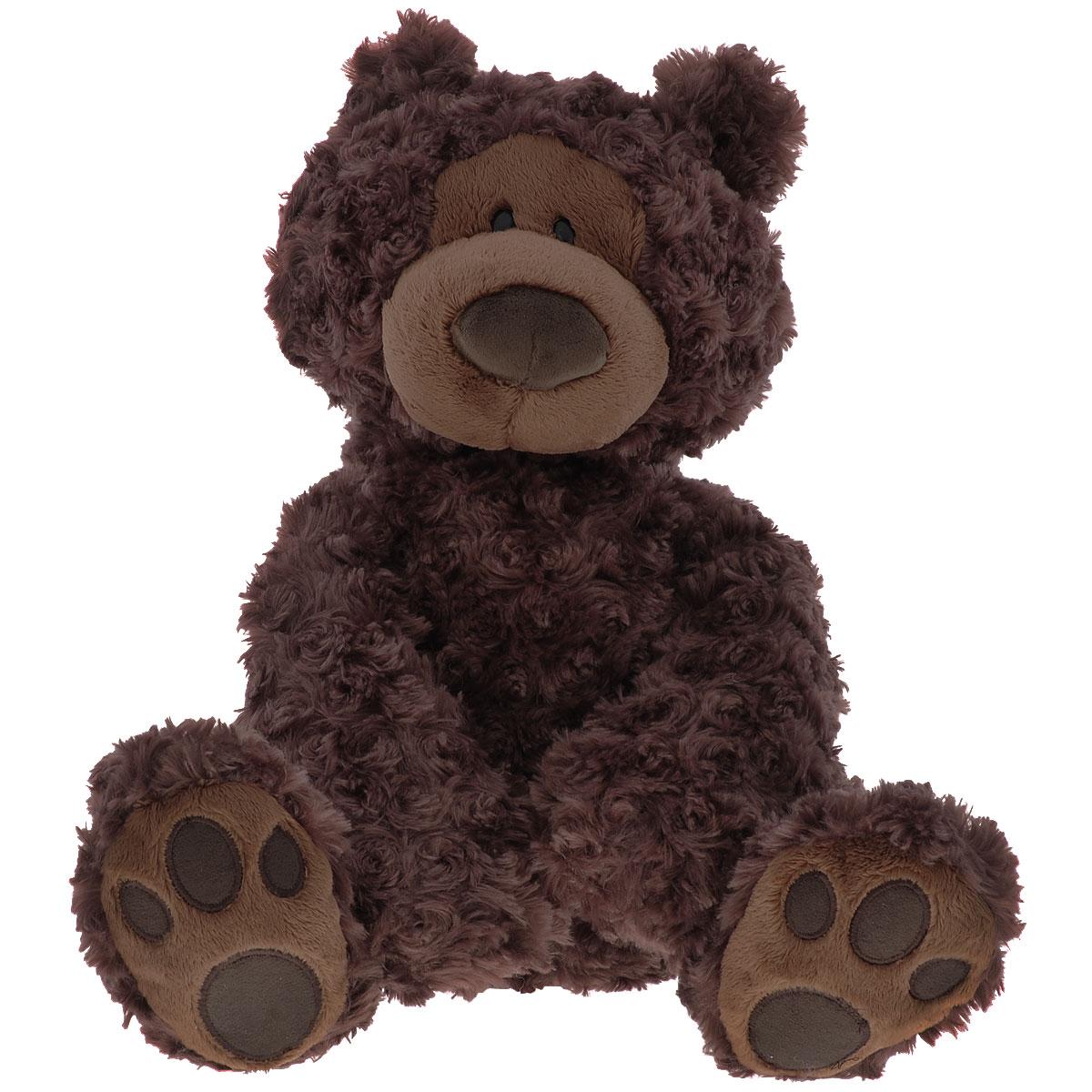 Мягкая игрушка Gund Bear Chocolate Large, 45,5 см320047Мягкая игрушка Gund Bear Chocolate Large, выполненная в виде милого медвежонка. Игрушка вызовет умиление и улыбку у каждого, кто ее увидит. Удивительно мягкая игрушка принесет радость и подарит своему обладателю мгновения нежных объятий и приятных воспоминаний. Пластиковые гранулы используемые для набивки улучшают и развивают моторику рук ребенка. Великолепное качество исполнения делают эту игрушку чудесным подарком к любому празднику.