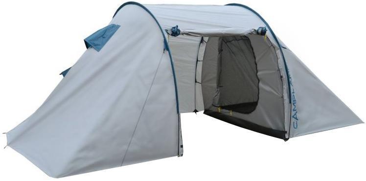 Палатка туристическая CAMPLAND CAMEL, 4-х местная, цвет: серо-синий