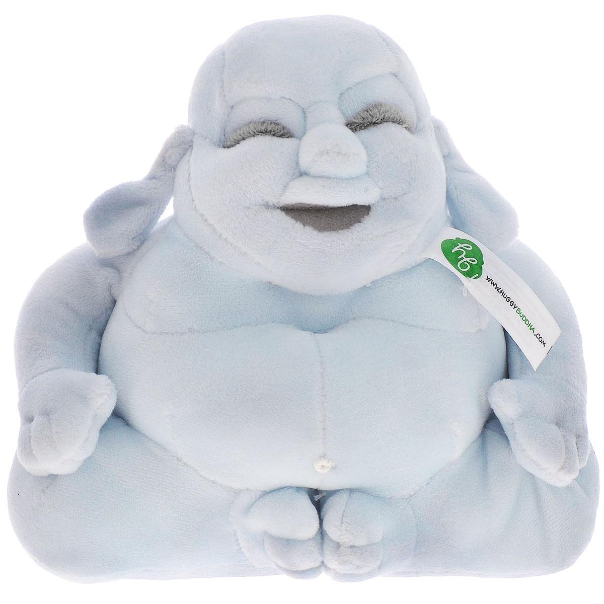 """Мягкая игрушка Huggy Buddha """"Junior"""", цвет: голубой, 18 см - 1"""